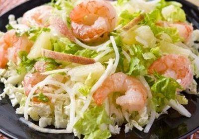 Простой салат из капусты рецепты с