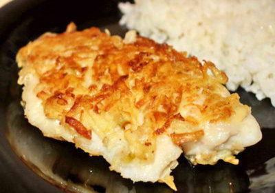 рыба под тертой картошкой